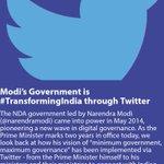 Modi's Government is #TransformingIndia through Twitter https://t.co/8P4CzF1ePo via NMApp https://t.co/ndFjVA8Nzn