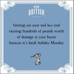 Got any DIY projects planned for the #BankHoliday weekend? NEW @SoVeryBritish greeting cards from Woodmansterne https://t.co/oC5PhLxZCd