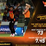 Our #SRH pace bowlers have been successful for us this IPL. Lets cheer them on today. #OrangeArmy #OrangeVoice https://t.co/8CiEDSWvhu