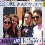 Enjoying the London sun … but don't forget to #RegisterToVote by 7 June for #EUref! #TurnUp https://t.co/usWdBfFJ5f https://t.co/PTdTZ5JZYE