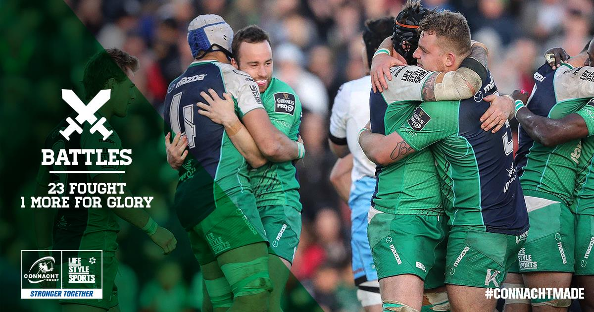 This one will be fought on foreign soil, but it's a battle that will live in our memories forever. #ConnachtMade https://t.co/E8dbh1D8PF