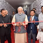 PM Shri @narendramodi inaugurating the exhibition of achievements of the North East, in Shillong https://t.co/S2RmsdXM4m