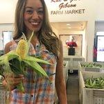 My microphone for the morning! #KSEESunrise. BIG corn sale @FresnoStateGFM @Fresno_State @FSJordanCollege #AG https://t.co/G73aHl1Xmy