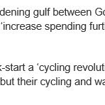 See my response to the revelation that Government funding for #cycling is set to fall by 70% https://t.co/9YQ8NNhKlY https://t.co/nY4bVxSUBr