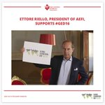 Our President Ettore Riello supports #GED16 opening the event in Rome. More details:https://t.co/K4WznhgXgO @UFILive https://t.co/DU54QJ6oRG