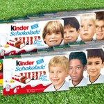 Pour lEuro,Kinder met à lhonneur les photos des joueurs allemands enfants. Les racistes hurlent.Jaime doublement. https://t.co/xswt6znmmS