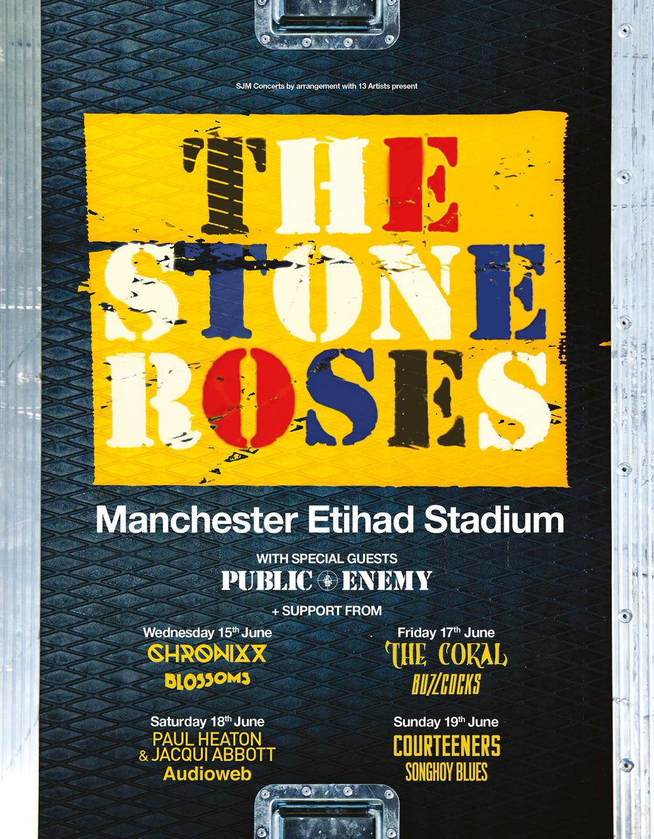 The Stone Roses Tour Support Act