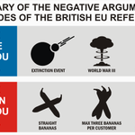 A summary of the negative arguments from the #Bremain and #Brexit camps. https://t.co/h650QcvqVk