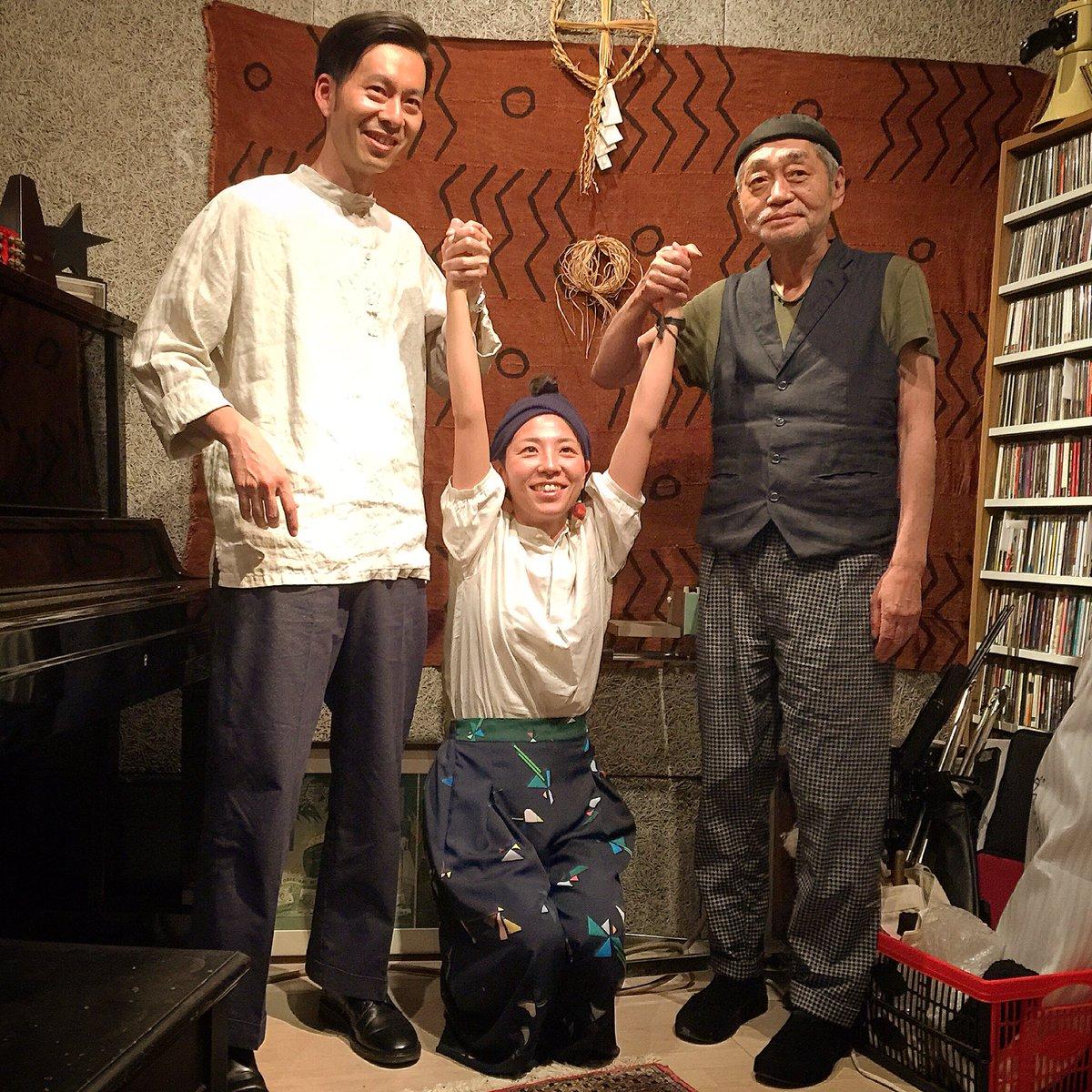 細野晴臣さんのラジオ番組「Daisy Holiday!」(InterFM)にお招きいただきました。6/8発売「FOLK」のタイトルは、実は細野さんと関わりが…? 6/12、19の2週に渡って放送予定です。どうぞお楽しみに。 https://t.co/G5GOLUBKyE