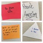 Some of the Cedar Ridge seniors messages on the walls to CR Underclassmen! https://t.co/NeoBGpYn5j