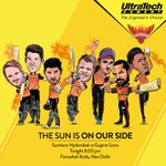 Lets wish team @SunRisers all the very best for their match against the Lions tonight at 8.00 PM! #UnshakableSpirit https://t.co/uARN7Mi660