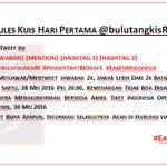 [KUIS HARI PERTAMA] Ikuti petunjuknya, hadiah 3 Tiket Indonesia Open tgl 30 Mei 2016, GOODLUCK! #EaaForIndonesia https://t.co/mjb6W7eQq8