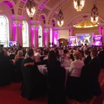 The @BelfastChamber awards ceremony is underway #BelfastBusinessAwards https://t.co/87nCZNf9Oz