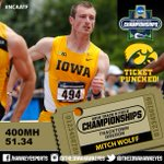 TICKET PUNCHED: #Hawkeyes Mitch Wolff is headed back to Eugene! #NCAATF #TheNextB1GThing https://t.co/msPWr2oAB8