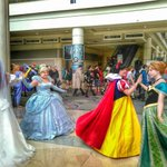 Dancing #disneyprincesses at #MegaCon2016. #cosplay #disney . #cinderella #snowwhite #anna… https://t.co/WQAnNDgV2p https://t.co/dhKg5EduKo