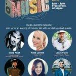 TONIGHT: Face The Music. Event starts @ 6:00 PM. Register FREE! https://t.co/L7Yjw8sxme #DesiFEST #Toronto #SAPNATO https://t.co/dm8GQPLxT0