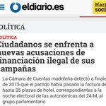 #DesmontandoALaCasta Ciudadanos ¿La nueva política? Más de lo mismo! Corrupción y derechona. https://t.co/RVs1pyCALG