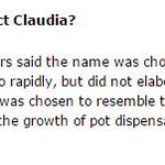"""Oh my. @Jeffreybgray found out why police called the pot-shop raids """"Project Claudia."""" https://t.co/SpNKV49muZ"""