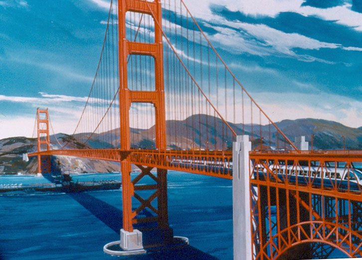 Happy 79th b'day, #GoldenGateBridge!  ...we would've been great together. https://t.co/uOq4VxNFye