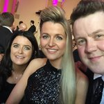 At the #BelfastBusinessAwards with the gorgeous @BelfastChamber and my stunning wife @NSuitor #GoodLuck to finalists https://t.co/vSnJFrsIlt
