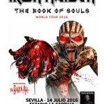 En su gira española, @IronMaiden actuarán en el imponente Estadio de La Cartuja de #Sevilla: https://t.co/zjV9kGrYqc https://t.co/z8w0FaoZFt