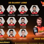 Heres the playing XI for today. Cheer them on #OrangeArmy #OrangeVoice #GLvSRH Lets welcome @trent_boult to the XI https://t.co/gbsSFFWDtY