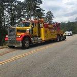 Second wrecker just got to scene to help get semi off road @WRDW_WAGT https://t.co/dAa9qiwC1Q