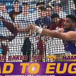J. Baker is going to Eugene! He threw for a UNI record 213-8 in the hammer to qualify for the NCAA Championships! https://t.co/fVAhiVQ6rN