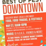 Check out @DowntownWpgBIZ Best of Fest today from 10-2 on Carlton & then in our parking lot from 7-10pm! #Winnipeg https://t.co/9prKONy5As