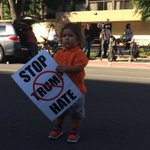 I think I found youngest Trump protester: Noah Gomez of Fresno #559vote https://t.co/gB0sP3P605