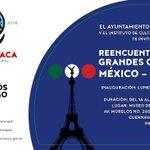 """Te invitamos a la Exposición """"Reencuentro de dos grandes culturas México–Francia"""" hasta el 29 de Mayo. ¡No faltes! https://t.co/6qodoWFlnw"""