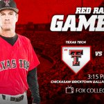 #Gameday #TexasTech resumes the #Big12 Championship at 3:15 p.m. this afternoon on @FoxCollegeSport. #WreckEm https://t.co/ku9BM1yIhy