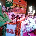Addressing the BJP party workers at Sursadan Hall, Sanjay Palace, Agra #Vikasparv #TransformingIndia https://t.co/f2o12ZGZ5t