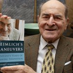 Dr Henry Heimlich uses Heimlich maneuver for first time, aged 96 https://t.co/GYGbfBS6F1 https://t.co/IQ5CU4hEx5