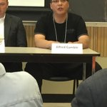 Alfred Gamble addressing First Nation challenges related to renewable energy #EnergyOptionsSask https://t.co/tebHuvuJNG