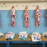 #Croatia jerseys ready for #Moldova friendly in Koprivnica (20:30)! #BeProud #EURO2016 #RedWhiteBlue https://t.co/tTJIt6RA8s