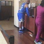 10 fouls, 4 Rebounds RT @ANT_NYC1: Dude got the full #Orlanda Magic Fit on in the bank 😑😂 https://t.co/2VmZnTApxT
