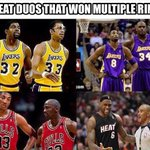 Some of the all-time greatest duos right here!!! (Credit: Garth Owenz on Facebook). https://t.co/e9c9mDul76
