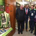 La Federación de Fútbol de Irlanda brinda un bonito homenaje a la figura del gran Patrick OConnell 🇮🇪👏👏 https://t.co/WdkC7heBeA