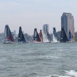 Fantastic to see such a big @IMOCA60 fleet in New York for todays Charity Race #oceanmasters #nyvendee https://t.co/oEuqocAsxf