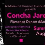 #ConchaJareno summer #flamenco #dance workshop Aug 8-14, register! https://t.co/NVIcb0XGOF #vancouver https://t.co/lcSmrdEbpM