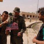#Raqqa YPG fighters around Northern Raqqa. via VOA Kurdish. https://t.co/gDcXRtAYsX