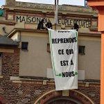 Coucou cest nous. La Maison du Peuple est de retour. #Rennes (photo via un compte dhater: @ElCherubin) https://t.co/RWqve8fVtu