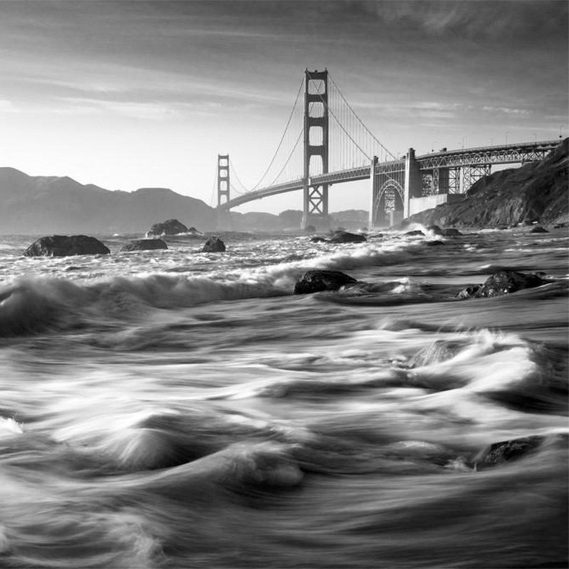 The #GoldenGateBridge opened today in 1937. See our favorite artwork of the iconic landmark. https://t.co/TpzDTbBKIX https://t.co/yVhGwEvTOW