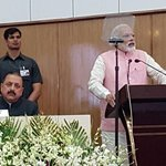 Sh @narendramodi made history today.1st PM in 40 yrs,2nd PM in 68 yrs to address #NorthEast Council meet at Shillong https://t.co/MUIRrz68RH
