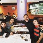 Festejando el cumple con mis tres hijos!! @cristianmatosas Fran y Ale https://t.co/xecUqY0w3r