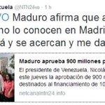 Dice el amigo de Iglesias que a España le hace falta un Maduro, que si viene a España le abrazarían por la calle.. https://t.co/EFL8J7D0AH