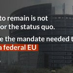 """There is no status quo no """"special status"""" caveat the only way to stop future EU integration is vote LEAVE #Brexit https://t.co/rTyZICG33l"""