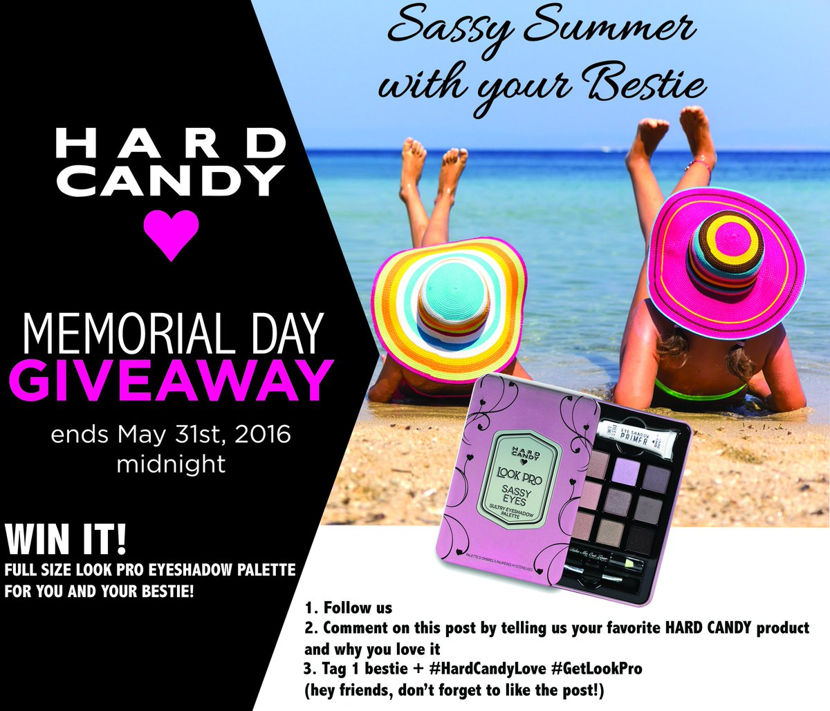 50 Winners on Twitter+BFF will win our #MemorialDay #GIVEAWAY! US RESIDENTS (age 18+) https://t.co/5gr0A5E0Hn https://t.co/Nj5YM4vAqo