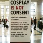 Exactly. #cosplayisnotconsent #MegaCon2016 #respect #citysurfingorlando https://t.co/RCTLCxvUpW https://t.co/2mQ57LTKwZ